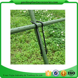 Chiny Black Garden Plant Accessories Wire  Buckle Gardening Cross Pillar Connecting Pieces dostawca